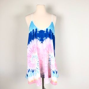 Dresses & Skirts - Paradisco Festival Tie Dye Sun Dress, Size 8